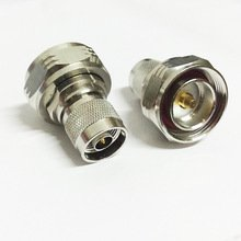 N type male to 7/16 male L29 DIN RF coax connector adapter straight High Quality Ships Quickly From USA