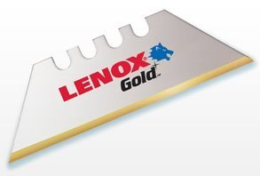 Lenox 20352-Gold Power Arc Curved100D Utility Knife Blades - 100 per Package