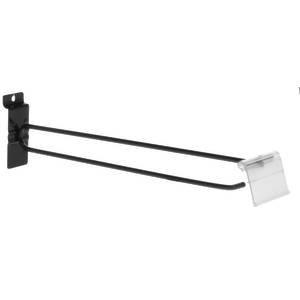 Black Slatwall Flip Scan Hooks, 11''