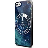 Bill Cipher Gravity Falls Art For iPhone 5/5s Black Case