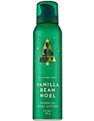 - Bath and Body Works VANILLA BEAN NOEL Shimmer Fizz Body Lotion 3.5 Ounce (2018 Edition)