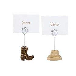Western Wedding Place Card Holders
