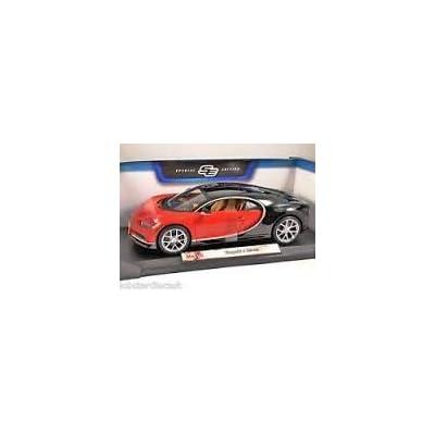 Maisto Bugatti Chiron Red 1:18 Scale Car Special Edition: Toys & Games