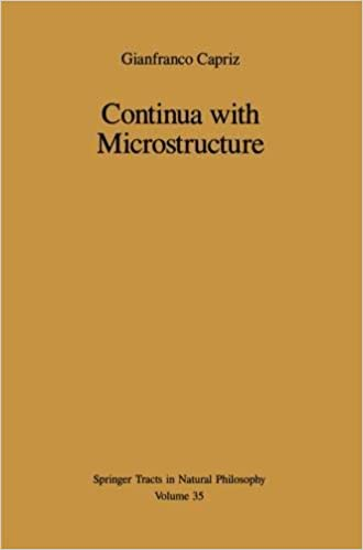 Continua with Microstructure: v. 35
