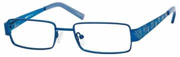 Seventeen 5341 Blue Designer Reading Glass Frames , Demo Lens