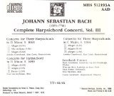 J.S. Bach : Complete Harpsichord Concerti, Vol. 3