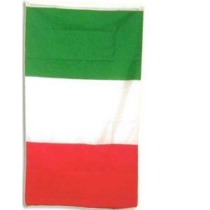 Italy National Country Flag - 3 foot by 5 foot Polyester