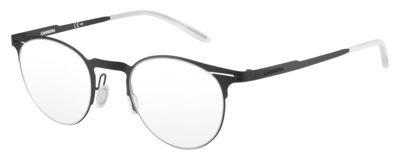 Carrera 6659 Eyeglass Frames CA6659-0003-4822 - Matte Black Frame, Lens Diameter 48mm, Distance