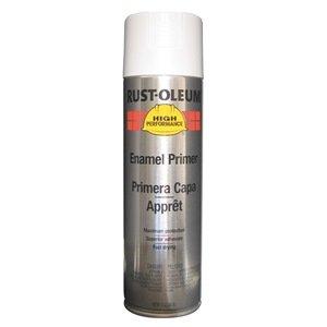 - Rust Preventative Spray Primer, Wht, 15 oz