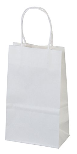 Bagsource White Kraft Paper Bags, Shopping, Mechandise, Part