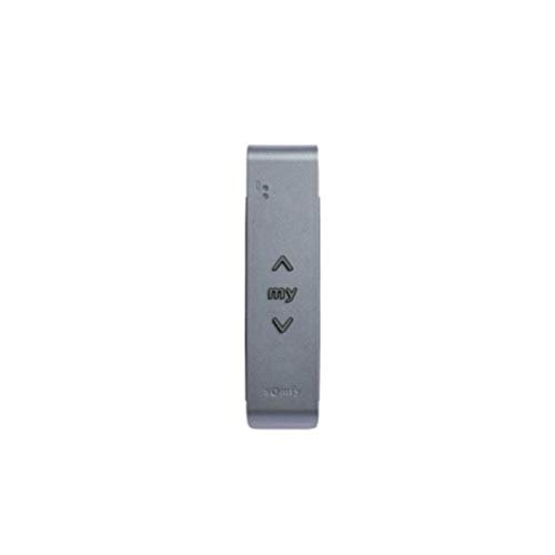 - 1 canal SOMFY gris anthracite T/él/écommande murale SITUO IO TITANE