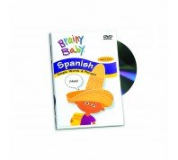 Brainy Baby Learn Spanish Language DVD Classic Edition