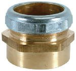 Brass Craft Service Parts 197B 1-1/2-Inch O.D. x 1-1/2-Inch Female Pipe Thread Waste/Trap Connector - Quantity 5