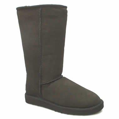 UGG Australia Classic Tall Girls Boots - Y13.0/Black