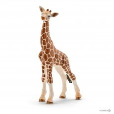 Female and Calf Figurines Male Schleich Giraffe Family Toy Figures Set