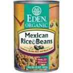 Eden Mexican Rice & Black Beans, Organic, 15-ounces (Pack of12) by Eden
