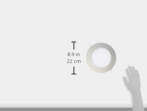 HALO Recessed 70PS 6-Inch Trim Wet Location and Air-Tite Listed Trim with Frosted Albalite Lens, White by Halo (Image #1)