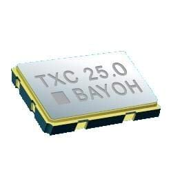Standard Clock Oscillators 9 25.000MHz 3.3V50ppm(-10 +70C) , Pack of 10 (7C-25.000MBB-T)