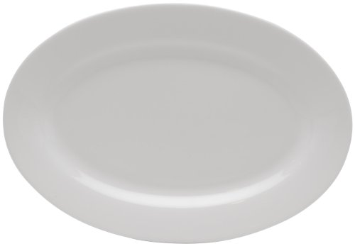 Oval Platter Serving Holiday (Red Vanilla Pure Vanilla 10-inch Oval Serving Platter)