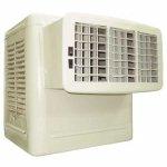 Dayton 4RNN6 Evaporative Cooler, Window, CFM 4800, Front