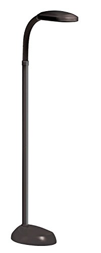 Natural Full Spectrum DayLight SunLight Floor Lamp Pure Sun Light 27W (Black)