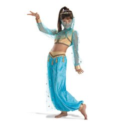 Disguise Costumes mystical genie costume: girl's size 4-6 Multicoloured