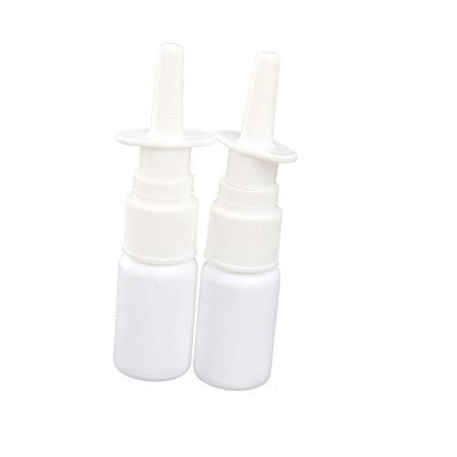 Baoblaze 10ml 15ml 20ml 30ml Refillable Empty Plastic Nasal Fine Mist Spray Bottle Vials Pump Sprayer With Cap for Cosmetic Makeup Perfume etc - 30ml ()