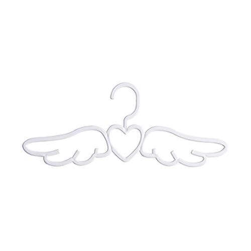 MoonHome 10 Pack Angel Wings Drying Rack Small Household Multi-Function Non-Slip Child,Non-Slip Pant Hangers