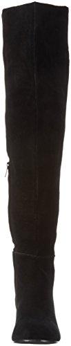 Stiefel Kurzschaft Bow Covered Overknee Damen Black SPM Schwarz wqXgHO11