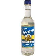 Torani Sugar Free Vanilla Syrup 6x 12.7Oz