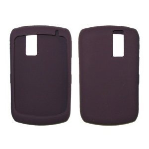 8300 Gel (Dark Purple Silicone Gel Skin Cover Case for Blackberry Curve 8300 / 8310 / 8320 / 8330 [Accessory Export Brand])