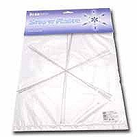 - Metal Wire Snowflake Forms - Fun Craft Beading Project 9 Inches (4 Snowflakes)