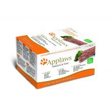 Applaws Gato Pate Turquía / Carne Multi Pack (7 PACK) 100g
