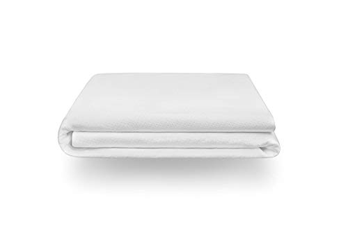Tuft & Needle Cal King Mattress Protector | Waterproof | Liquid-Proof | Protects Against Dust Mites and Allergens | Sleeps Quiet | Fitted Sheet Style | Soft and Comfortable