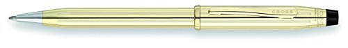 Cross Century II 10KT Gold-Filled (Rolled Gold) Ballpoint Pen (Filled Cross Pen Gold Ballpoint)