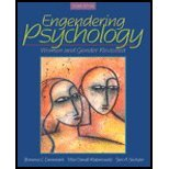 Engendering Psychology - Women & Gender Revisited (2nd, 05) by [Paperback (2004)]