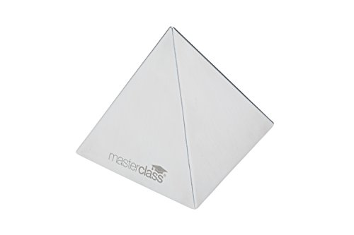 (Kitchencraft Masterclass Stainless Steel Pyramid Food Mould/rice Shaper,)