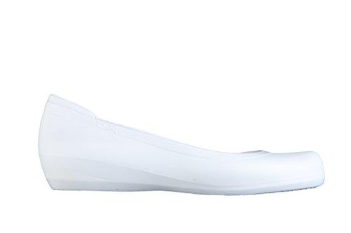 Feliz Caminar - Zapatos Manoletina Blanco