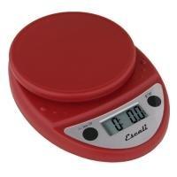 The Amazing Escali P115WR Primo Digital Kitchen Food Scale-Warm Red (Scale Primo Food Escali)