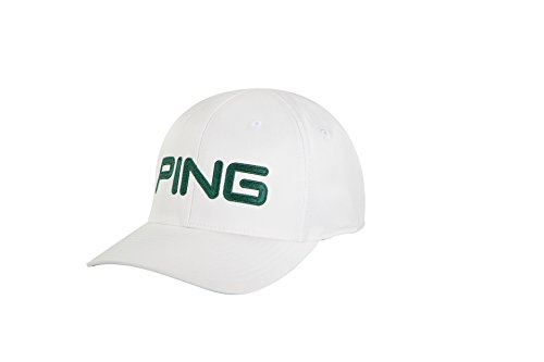 (PING TOUR STRUCTURED HAT 2018- WHITE/FOREST S/M)