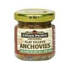 Crown Prince Flat Fillets of Anchovies In Oil -- 2 oz