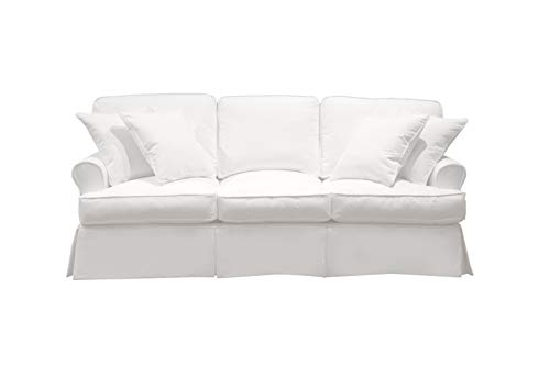 Sunset Trading SU-117600-391081 Horizon Slipcovered Sofa