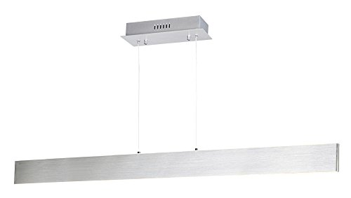ET2 Lighting E22905-AL Blade Pendant-PCB LED, Brushed - Island Brushed Aluminum Light