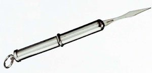JB Silverware Silver Retractable Toothpick by JB Silverware