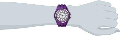 Vernier Women's VNR111-30PU Soft-Touch Fashion Cobalt Purple Bracelet Watch