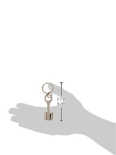 Busted Knuckle Garage BKG-MH-1401 Piston Key Chain with BKG Logo