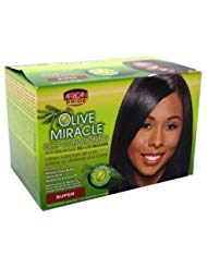 (African Pride Olive Miracle Deep Conditioning Relaxer - Super by AFRICAN PRIDE)