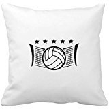 KarilShop Volleyball Net Linen Throw Pillow Case Cushion Cover Home Sofa Decorative 18 X -