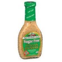 Maple Grove Farms Italian Balsamic Sugar Free Dressing, 8 Ounce - 6 per (Carbs Italian Dressing)