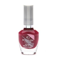 Cover Girl Boundless Base Coat Nail Color, Fuchsia Fatale #530 - 1 Ea (Cover Girl Boundless Nail Color)